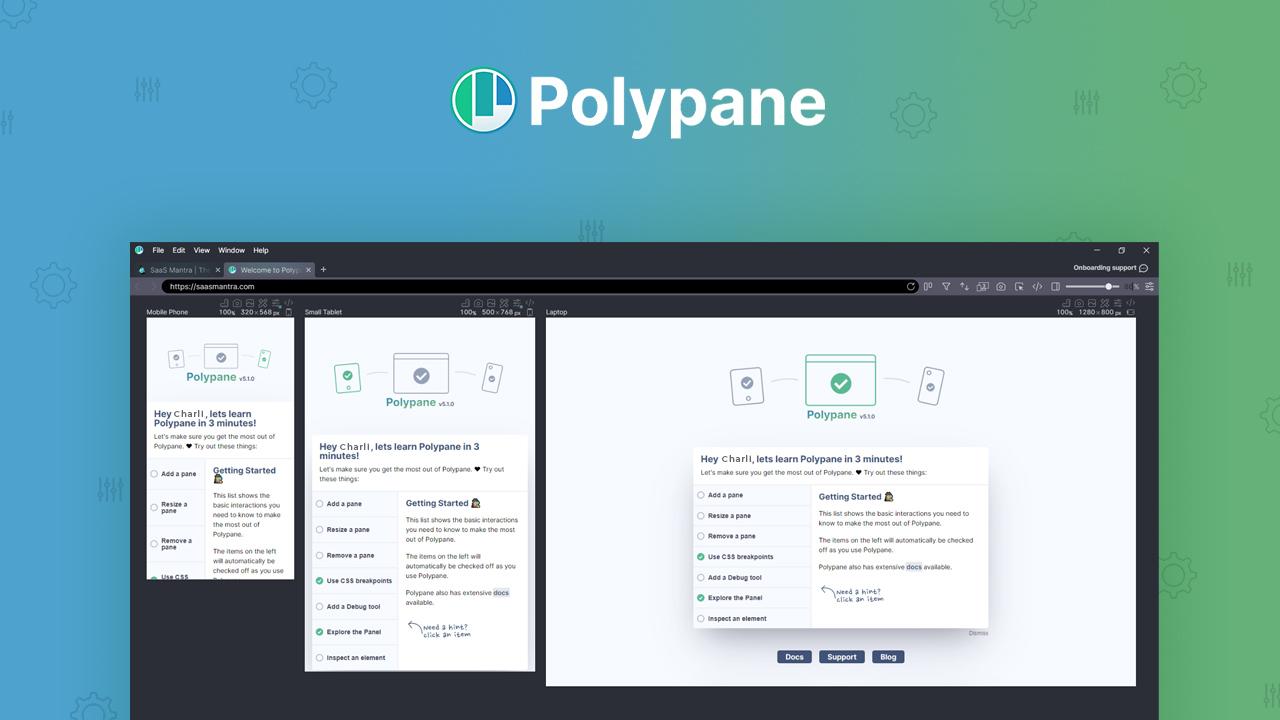 Polypane Lifetime Deal | SaaS Mantra