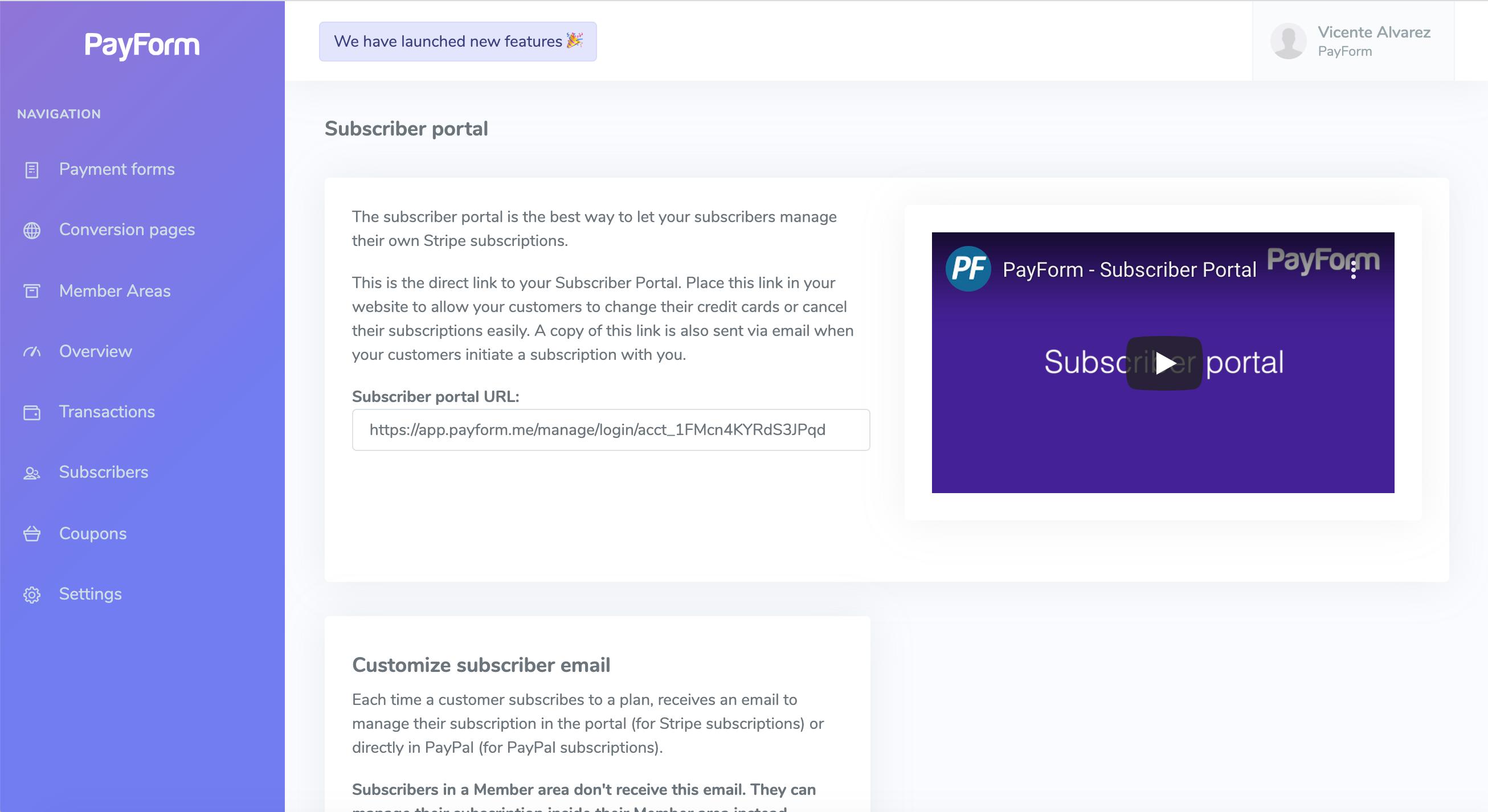 Subscription Portal